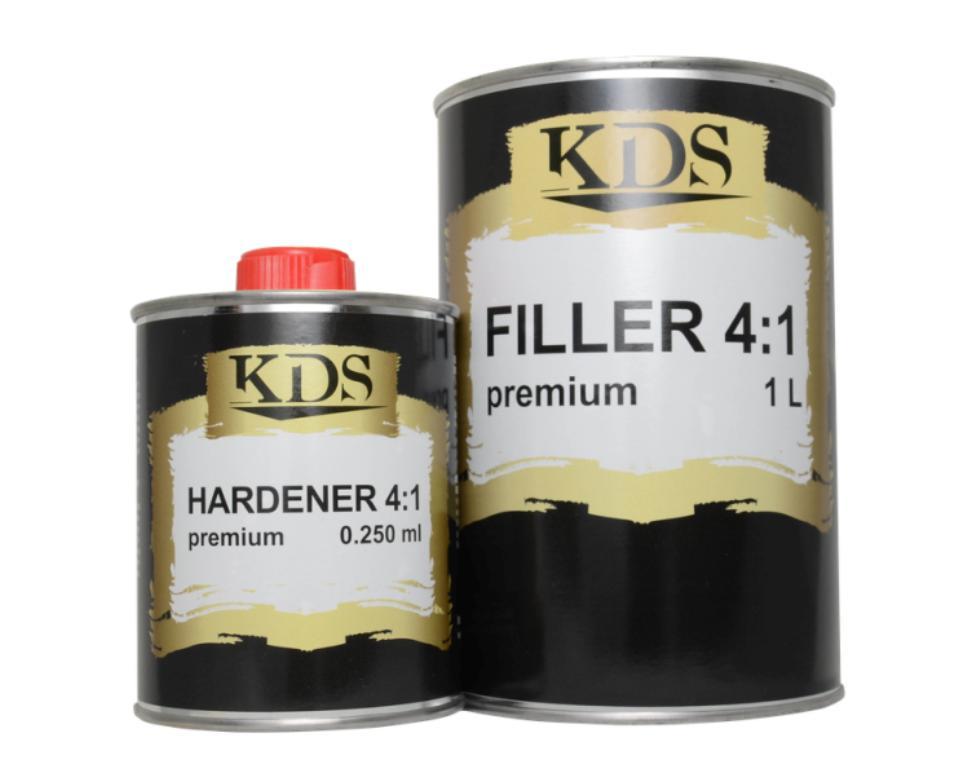 Акриловый грунт KDS FILLER 4:1 Premium